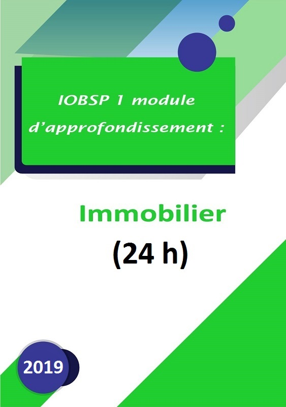 IOBSP 1 Immo (2018)