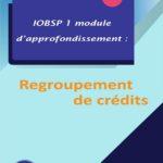 IOBSP 1 module d'approfondissement